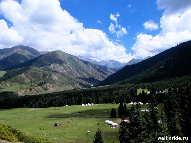 Ущелье Джети-Огуз, Киргизия, Кок-Жайык