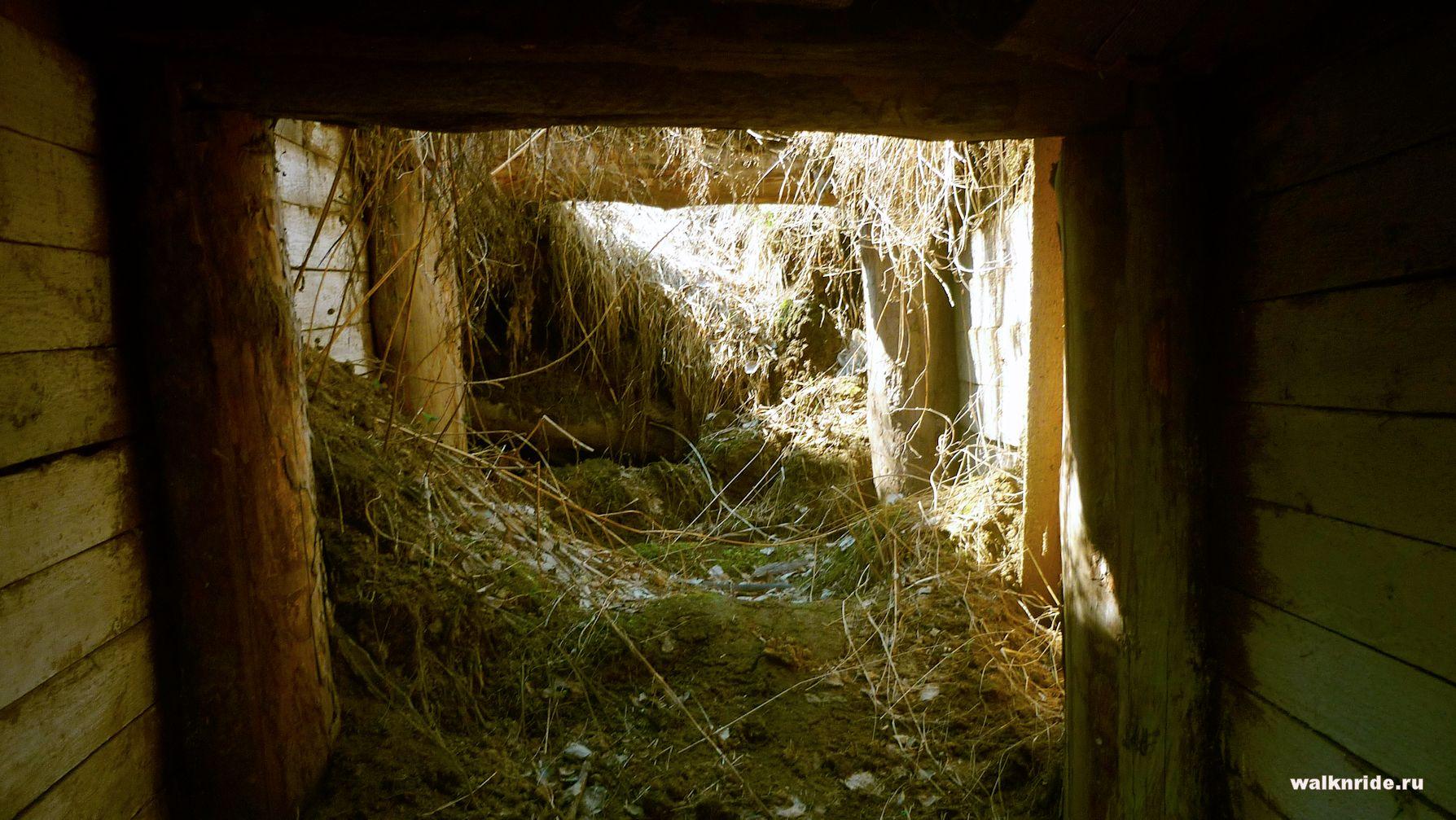 Храмовый пещерный комплекс недалеко от Среднекрасилово