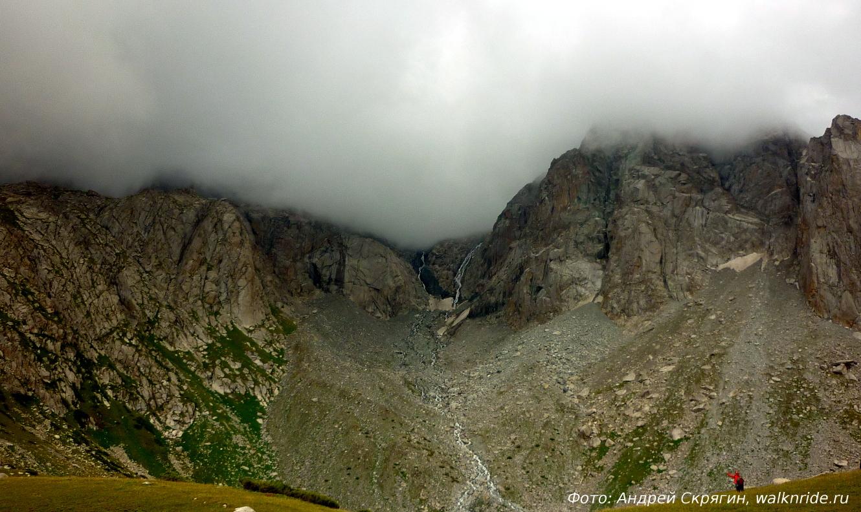 Непогода в горах наступает стремительно
