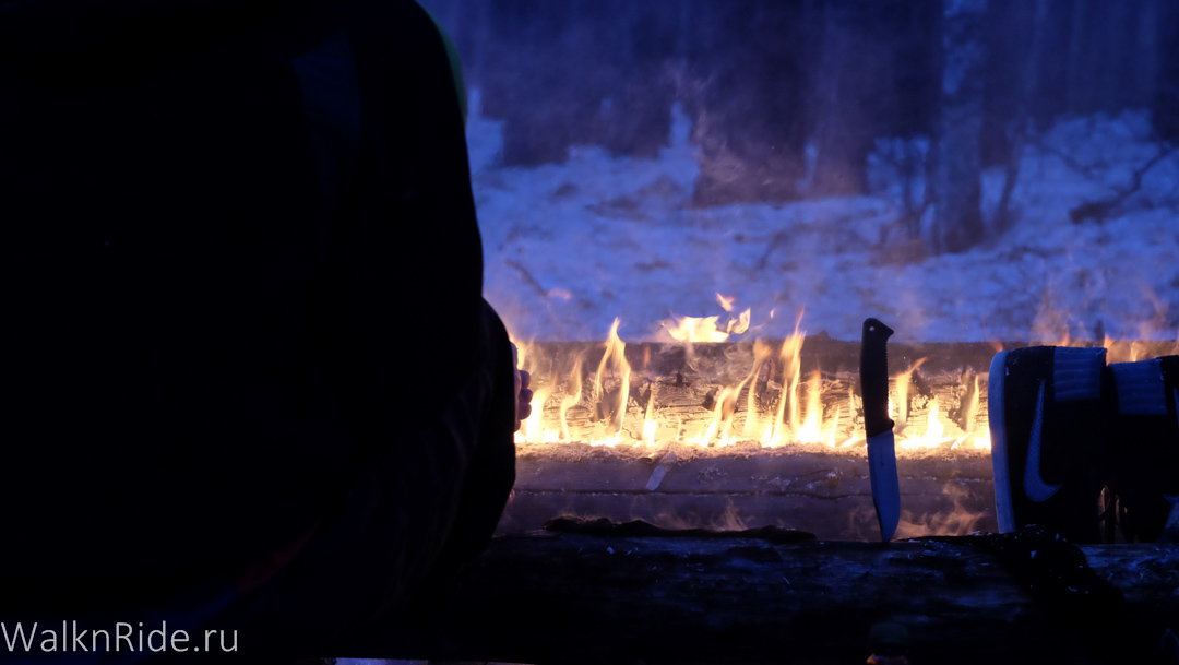 Зимняя ночевка в палатке своими руками
