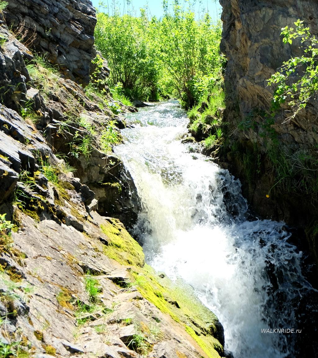 Водопад Прямской