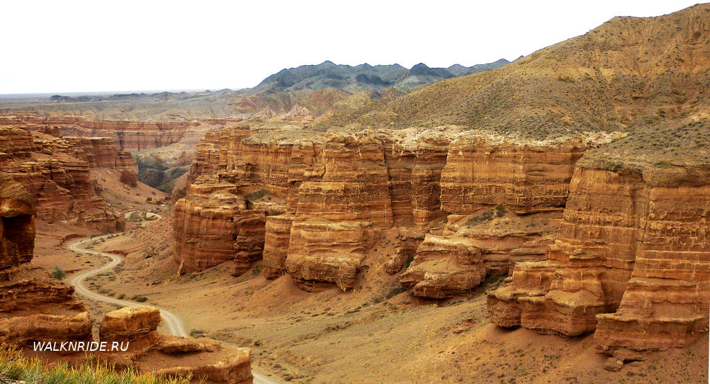 Путешествие по Казахстану. Чарынский каньон.