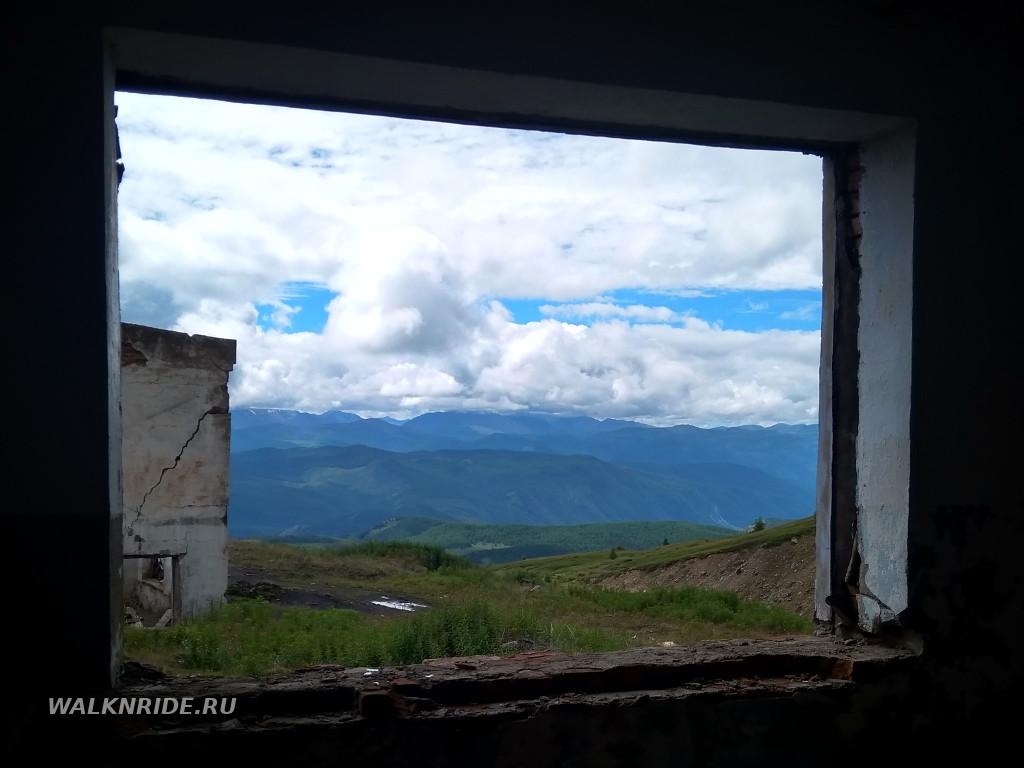 Вид с высоты Акташского рудника.