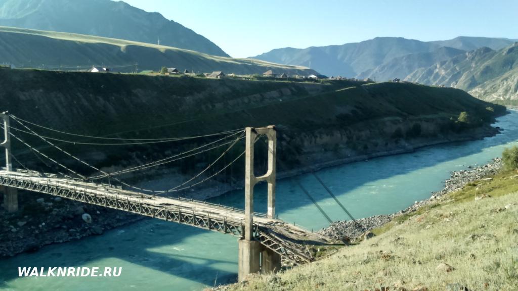 Инский мост конструкции Цаплина