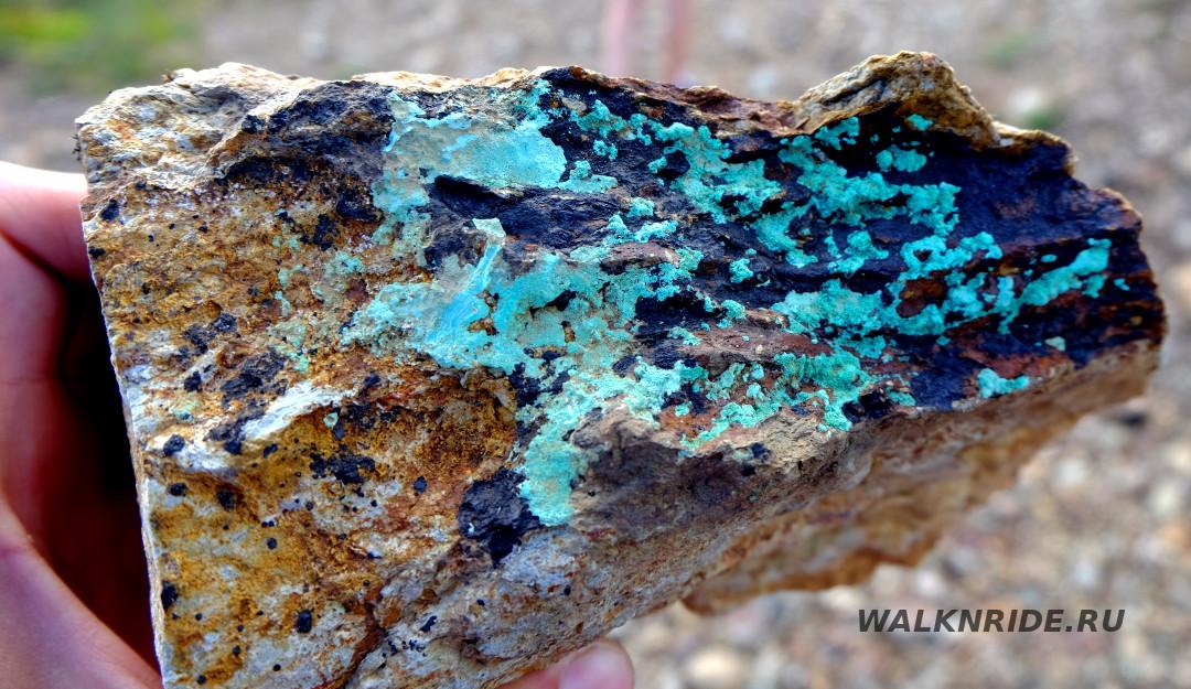 Лазурское месторождение колчеданно-полиметаллических руд